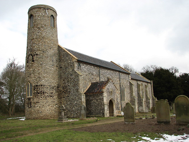 The church of St Lawrence