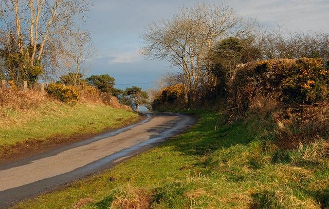 The Drumknockan Road near Dromore