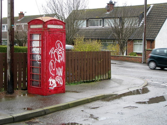 Old telephone box, Donaghadee