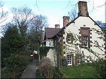 NT2273 : George Pape's Widows' Cottages by M J Richardson