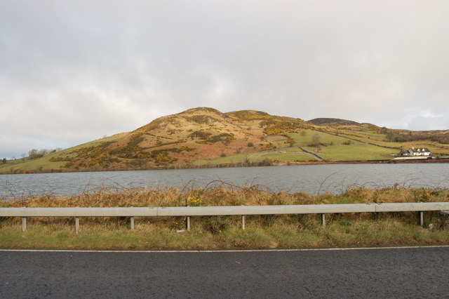 Slievenalargy seen from the A25
