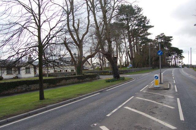 The village of Seaforde