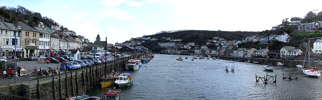 Looe River - Panorama looking South