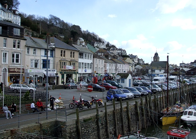 East Looe from the bridge