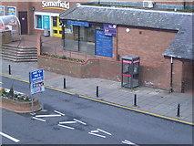NT9953 : Castlegate car park entrance by Nick Mutton