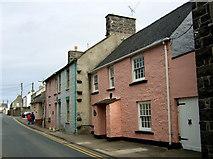 SM7525 : Houses in Nun Street/Stryd Non by ceridwen