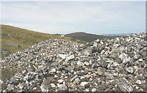 SH7123 : Spoil tip at the Cefn Coch Gold Mine by Eric Jones