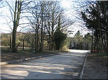 SU6252 : Access road to South East Water pump station by Given Up