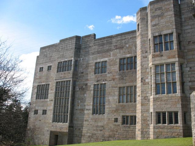 Castle Drogo, south-east side