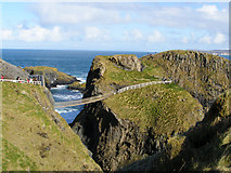 D0644 : Carrick-a-rede Rope Bridge by mauldy