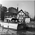 TG3017 : Bure Court Hotel, Wroxham, Norfolk, taken 1964 by Christine Matthews