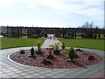 NS4870 : Gardens of the Beardmore Hotel by Stephen Sweeney