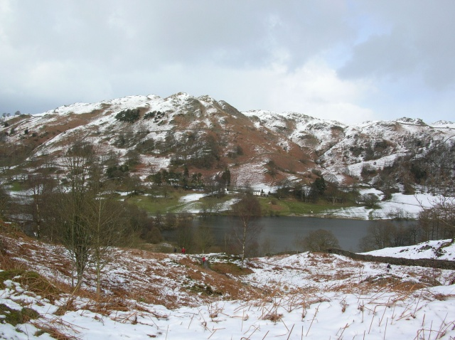 Loughrigg under snow