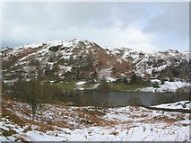 NY3404 : Loughrigg under snow by DS Pugh