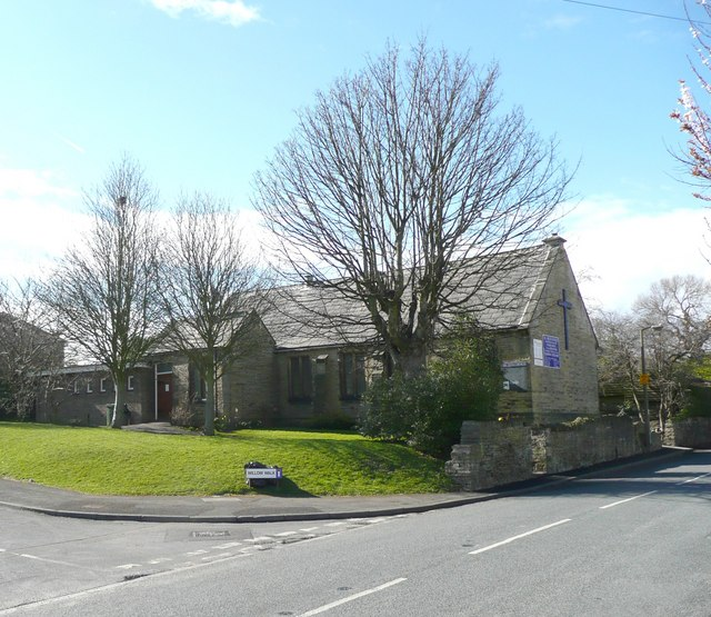 All Souls Church, Norristhorpe, Liversedge by Humphrey Bolton