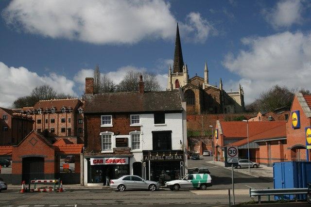 Supercar, fishbar and church