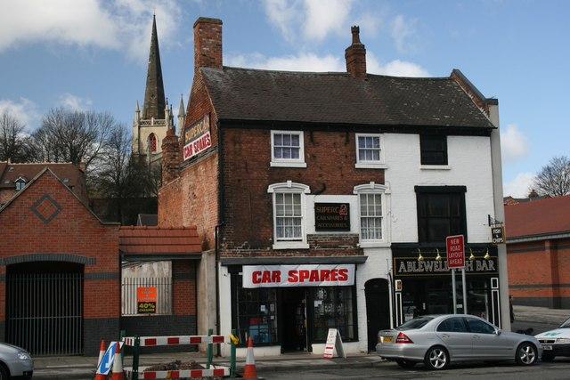 Car Spares & Chip shop