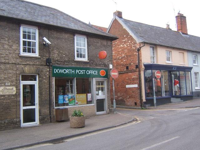 Ixworth Post Office