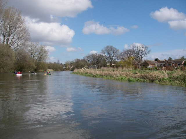 River Avon below Downton