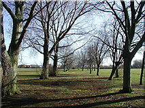 TA0832 : Oak Road Playing Fields by Paul Glazzard
