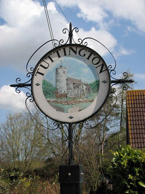 Tuttington village sign