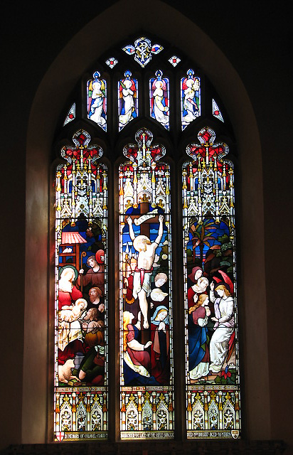 St Margaret's church - east window