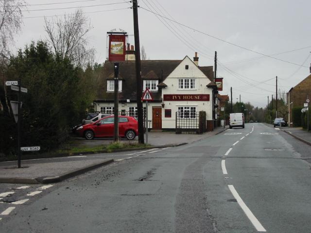 Ivy House pub on Hackington Road