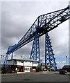 NZ4921 : Middlesbrough Transporter Bridge by Andy Beecroft