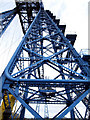 NZ4921 : Middlesbrough Transporter Bridge by Andy Beecroft