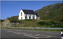 NM7582 : Our Lady of the Braes Church at Polnish by John Firth