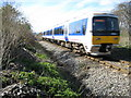 SP8004 : Monks Risborough: Railway line from Princes Risborough by Nigel Cox