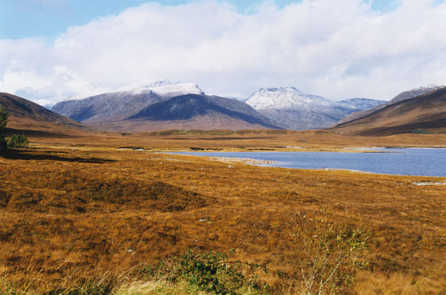 The western shore of Loch Glascarnoch