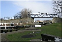 SE3419 : Fall Ings Lock - Calder & Hebble Navigation - Doncaster Road by Betty Longbottom