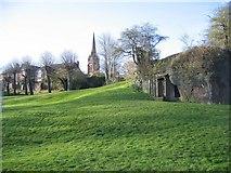 SJ4065 : Edgar's Field and Minerva's shrine by John S Turner