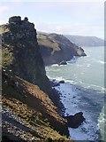 SS7049 : Castle Rock by Diane Sambrook
