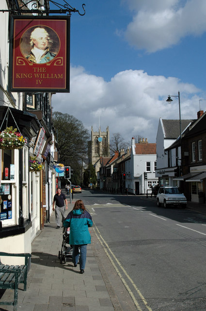 Hallgate, Cottingham