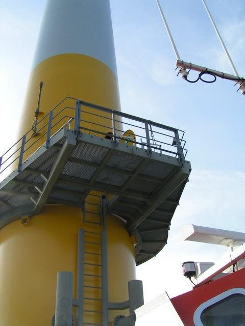 Wind Turbine landing stage