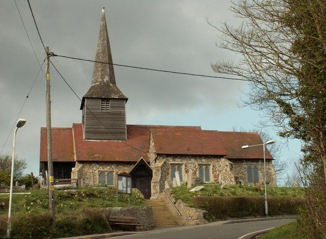 St. Nicholas; the parish church of Laindon