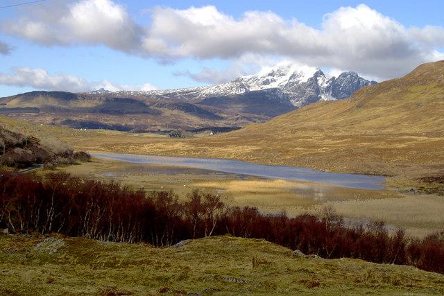Loch Cill Chriosd and Bla Bheinn