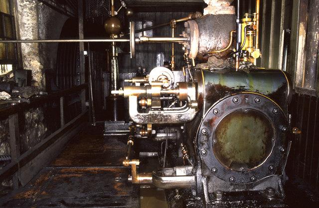 Steam engine, Barker's Tannery, Otley