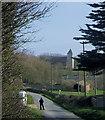 TQ4701 : Bishopstone Road, Bishopstone, East Sussex by Kevin Gordon