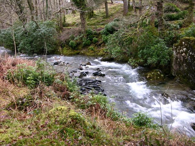 Afon Dulas, Aberllefenni