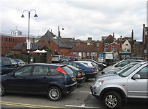 SU6351 : Car park at the 'Top of Town' by Sandy B