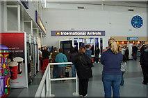 NZ1871 : International Arrivals by John Sparshatt