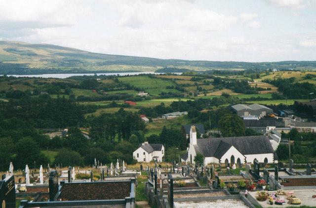 View Looking Towards Lough Allen