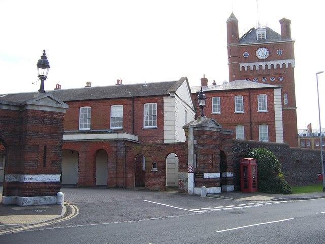 Main Gate, Eastney Barracks-Portsmouth