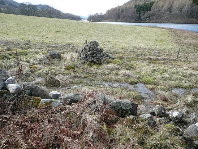 Cairn beside Loch Tummel