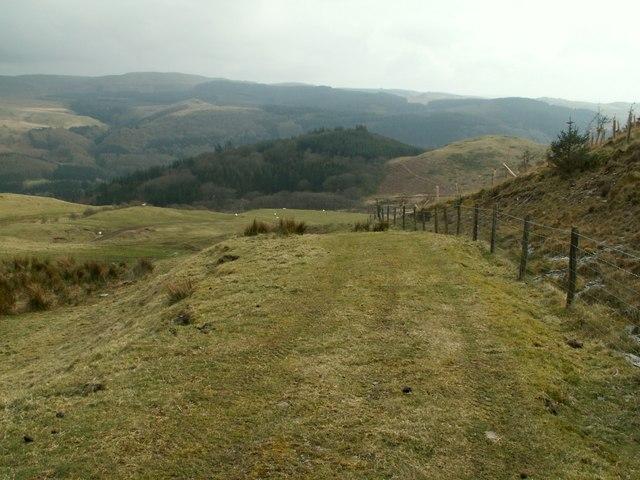 The Pwllpeiran Trail from Bwlch yr Oerfa
