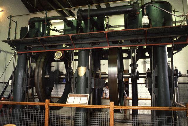 Steam pumping engine, Waterworks Museum, Broomy Hill
