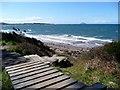 NS2109 : Steps to the beach at Culzean by Gordon Brown